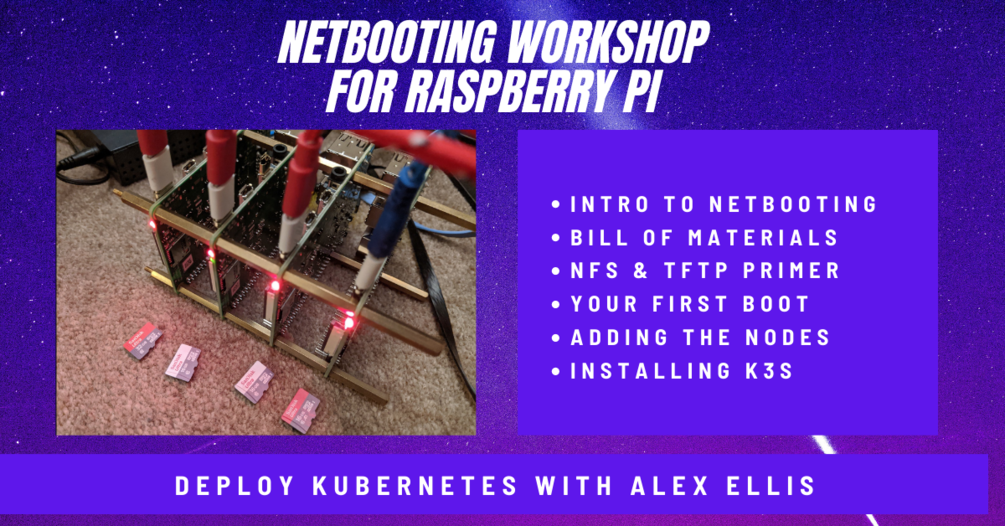 My Netbooting workshop for Raspberry Pi with K3s on Gumroad