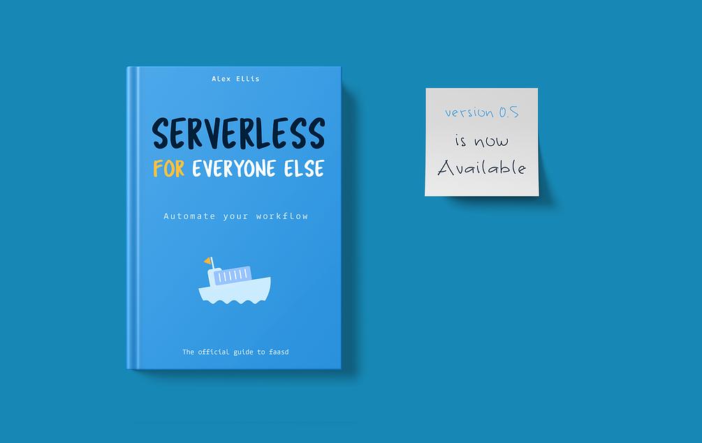 Serverless eBook cover